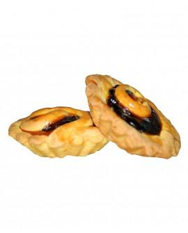 Crostatine alla Visciola e Crema pasticcera - vaschetta 360g - n.9 pezzi - Bontà Artigianale di Raffaele Rotondi