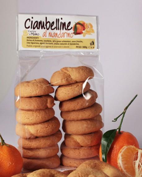 Ciambelline mandarino artigianali 300 g - Pasticceria Stefano Campoli