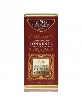 Tavoletta Monorigine Criollo Venezuela 71% Cacao minimo 100g - Cioccolateria Napoleone Pietro