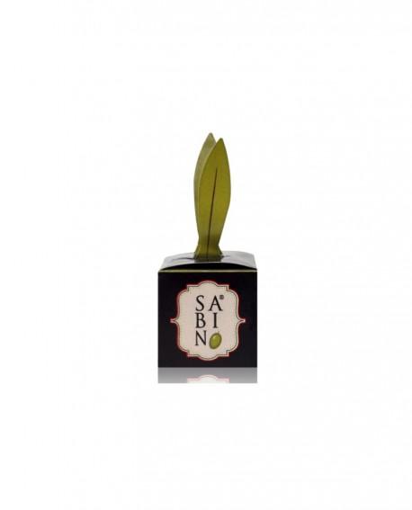 Pralina Sabino - Cioccolato Fondente, Pane Tostato e Olio Extra Vergine di Oliva Sabino 12g - Cioccolateria Napoleone Pietro