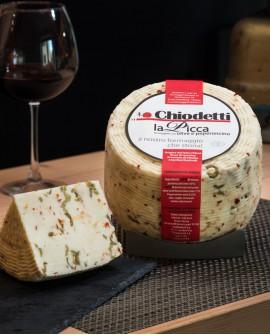 La Picca Caciolive - formaggio fresco con latte misto - stagionatura 15 giorni - sottovuoto 2Kg - Formaggi Chiodetti