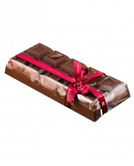 Tavoletta Cioccolato al Latte con Nocciole 1 Kg - Cioccolateria Napoleone Pietro