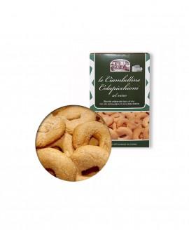 Ciambelline al vino biscotto tipico - box 250g - Antico Forno Pasticceria Colapicchioni Angelo