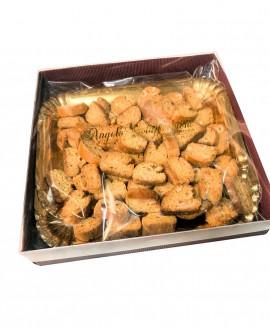 Tozzetti biscotto con nocciole tostate - box 1000g - Antico Forno Pasticceria Colapicchioni Angelo