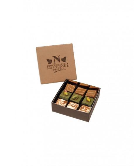 Cremini assortiti Scatola 9 pezzi - Cioccolateria Napoleone Pietro