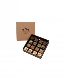 Cremini assortiti Scatola 16 pezzi - Cioccolateria Napoleone Pietro