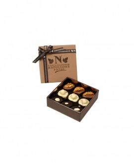 Pralinati assortiti Scatola 9 pezzi - Cioccolateria Napoleone Pietro
