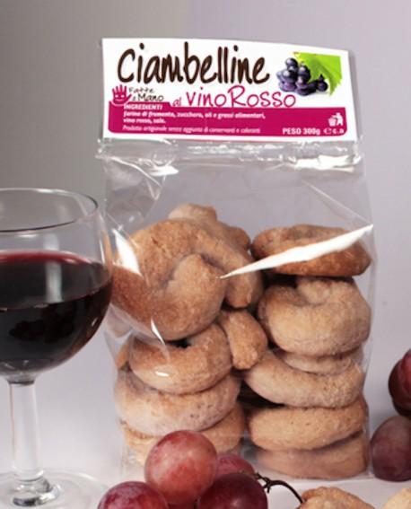 Ciambelline vino rosso artigianali 250 g - Pasticceria Stefano Campoli
