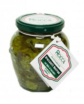 Broccoletti Nostrani Dolci - Vaso Orcio 256 g - Azienda Rocca