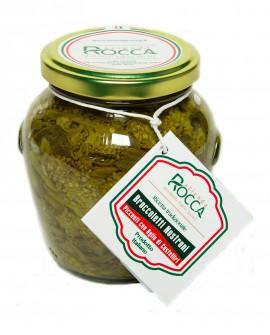 Broccoletti Nostrani Piccanti - Vaso Orcio 256 g - Azienda Rocca