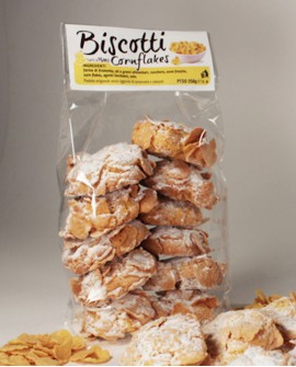 Biscotti corn flex artigianali 250 g - Pasticceria Stefano Campoli