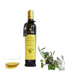 Olio Extravergine di Oliva 100% italiano Tracciato - Bottiglia da 500 ml - Guglietta