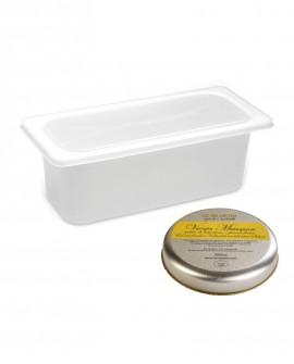 Gelato Crema all'Uovo Mantecato premium vaschetta 5lt / 3,3 kg La Via Lattea
