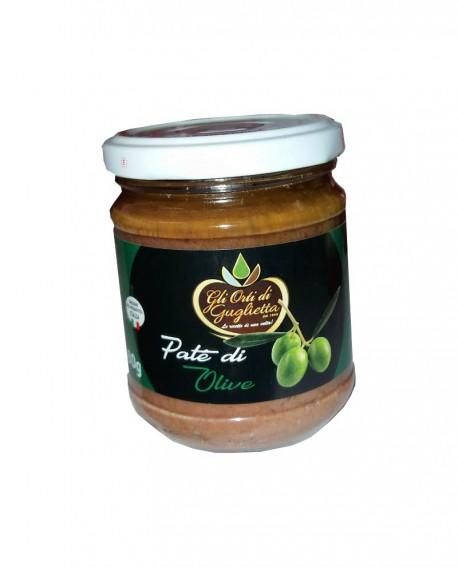 Patè di Olive Classico 180 g - Gli Orti di Guglietta