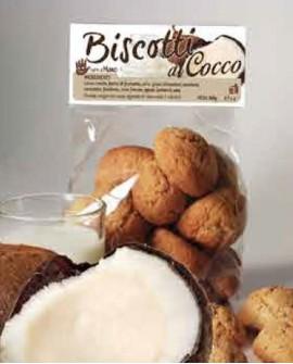 Biscotti al cocco artigianali 300 g - Pasticceria Stefano Campoli