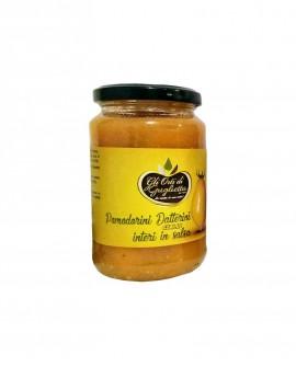 Pomodorini datterini gialli interi in salsa - Vaso da 350 g - Gli Orti di Guglietta