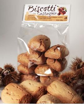 Biscotti alla castagna artigianali 300 g - Pasticceria Stefano Campoli