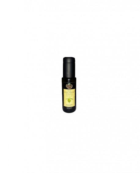 L'Eccellente Olio Extravergine di Oliva 100% italiano classico - Bottiglia da 100 ml - Gli Orti di Guglietta