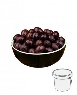 Olive Gaeta - Itrana Nere in salamoia - Secchiello plastica 1 kg - Gli Orti di Guglietta