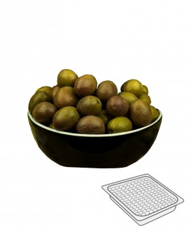Olive Gaeta - Itrana Verdi in salamoia - Vaschetta 300 g - Gli Orti di Guglietta
