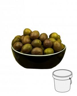Olive Gaeta - Itrana Verdi in salamoia - Secchiello plastica 1 kg - Gli Orti di Guglietta
