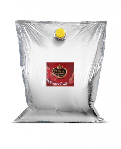 Passata Rustica al naturale - Bag in Box 2,5 litri - Gli Orti di Guglietta