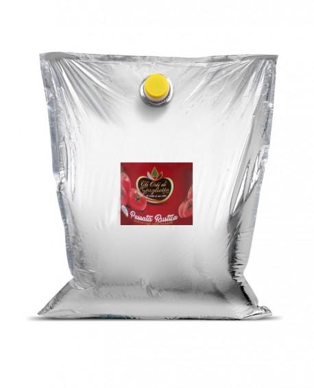 Passata Rustica al naturale - Bag in Box 5 litri - Gli Orti di Guglietta