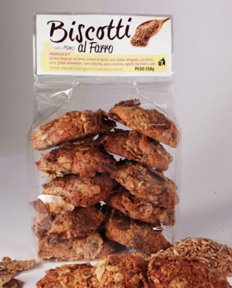 Biscotti farro e uvetta artigianali 250 g - Pasticceria Stefano Campoli