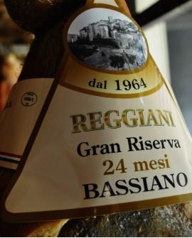 Prosciutto di Bassiano Gran Riserva 24 mesi con Osso 9,5 Kg - Reggiani