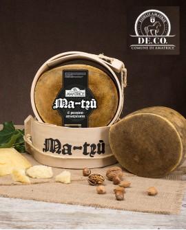 Pecorino amatriciano stagionato Ma-Trù 1,9-2,1 kg De.Co.  - vendita al pezzo - Caseificio Storico Amatrice