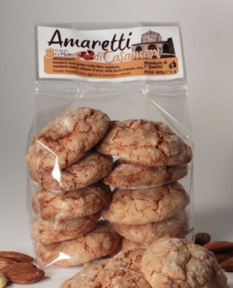 Amaretti casamari artigianali 400 g - Pasticceria Stefano Campoli