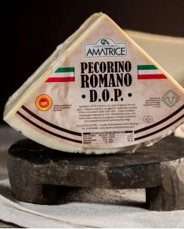 Pecorino Romano DOP in ottavi SV 3,3-3,5 kg  - vendita al pezzo - Caseificio Storico Amatrice