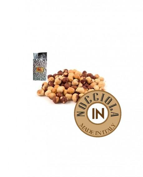 Nocciole tostate - busta sv metallizzata - 1 kg - Nocciola IN