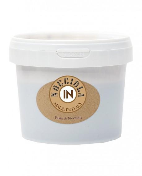 Pasta di nocciola chiara - secchiello 5 kg - Nocciola IN