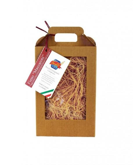 Maccaroni Canepinesi con grano antico 500 g - Pastificio Fanelli
