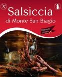 Salsiccia di Monte San Biagio Stagionata Catenella Piccante 500g stagionatura 1 mese - Salumi Grufà