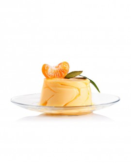 Sorbetto Mandarino Monoporzione 120 g - artigianale - La Via Lattea