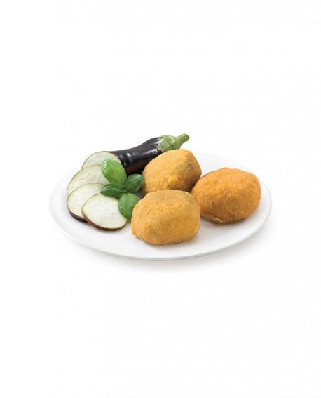 Bocconcini di melanzana mignon 80g surgelato - cartone 6 kg - Frittoking