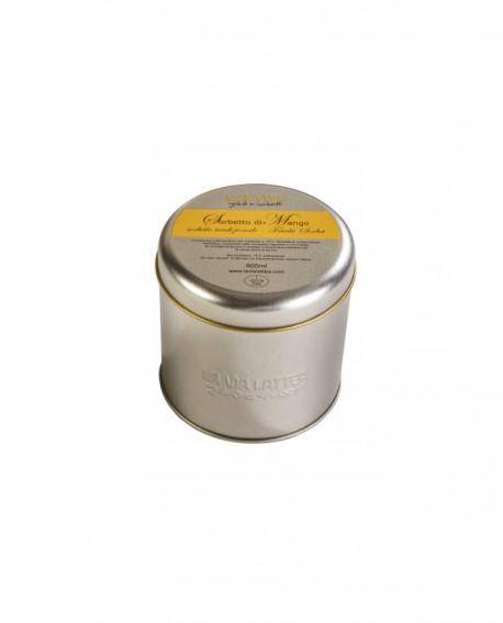 Sorbetto di Mango Lattina 600ml (400g/450g) - artigianale - La Via Lattea