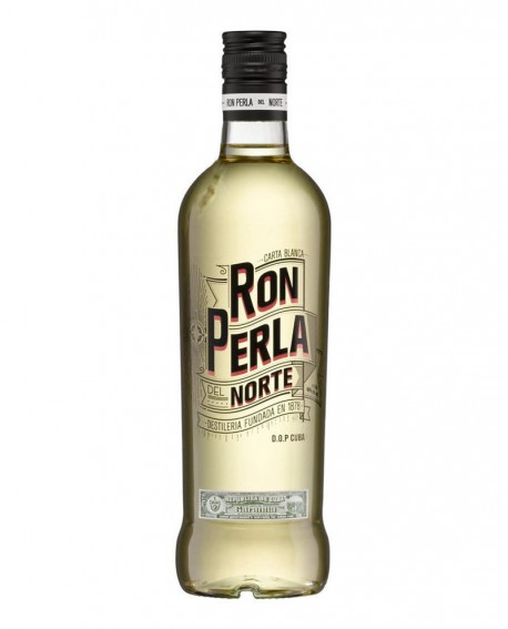 Rum bianco PERLA DEL NORTE Rhum - RON BLANCO - 700ml - Alc.40% vol.