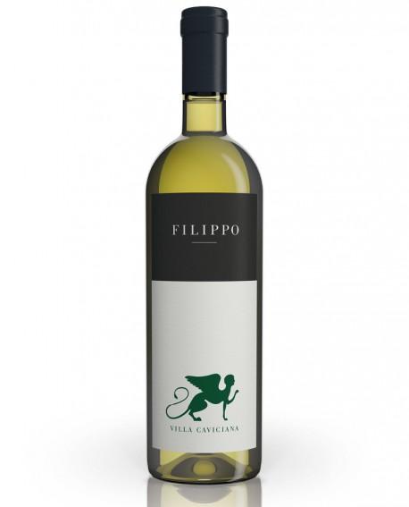 Bianco FILIPPO - IGT Lazio Bianco - Chardonnay e Sauvignon Blanc - vino Biologico 0,75 lt - Cantina Villa Caviciana
