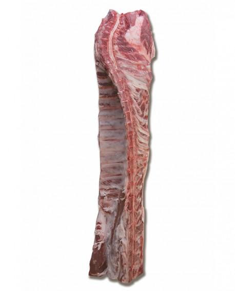 Lombo con collo e con osso Mangalitza - suino carne fresca - intero 8-9Kg - Macelleria Villa Caviciana