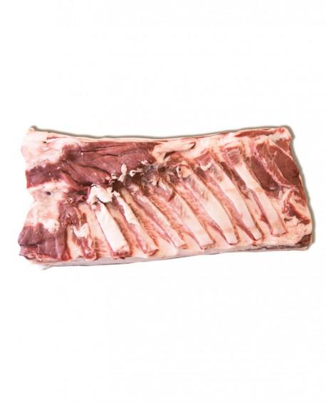 Pancetta steccata Mangalitza - suino carne fresca - intera 4.5-5 Kg - Macelleria Villa Caviciana
