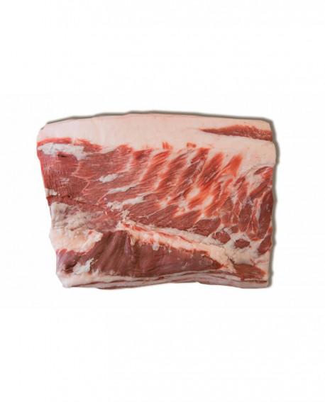 Pancettone Mangalitza - suino carne fresca - intera 5-5.5 Kg - Macelleria Villa Caviciana