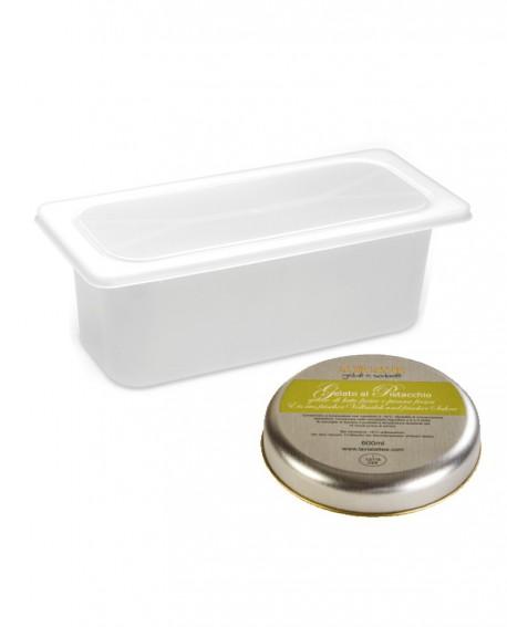 Gelato Pistacchio di Bronte Mantecato premium vaschetta 5lt / 3,3 kg - artigianale - La Via Lattea
