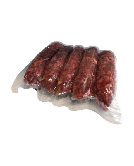 Salsiccette stagionate n.5 pezzi - razza Mangalica di Origine Italiana, 250g sv Stagionatura +45gg - Salumificio Villa Caviciana