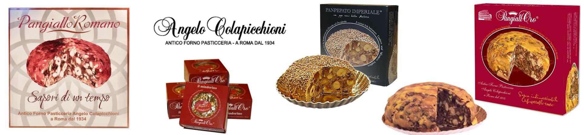 vendita online dolci da forno pangiallo romano vendita online - ANTICO FORNO COLAPICCHIONI