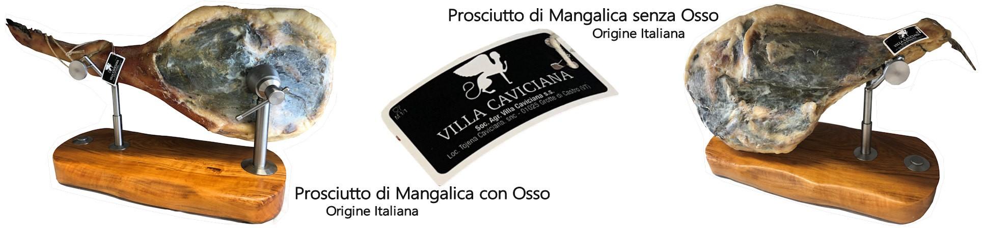 prosciutto di mangalitza vendita online - VILLA CAVICIANA
