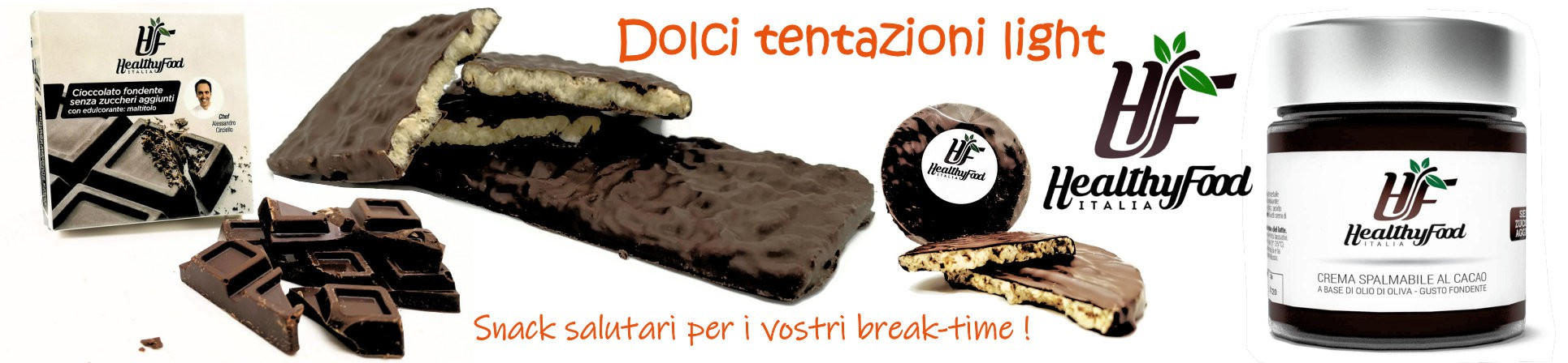 snack salutari vendita online snack dolci light - HEALTHY FOOD ITALIA