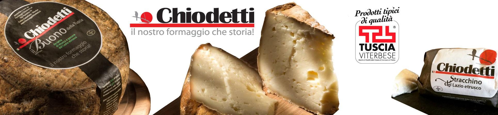 vendita online formaggi tipici della Tuscia - CHIODETTI FORMAGGI